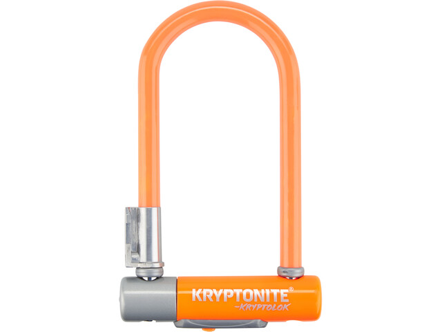 Kryptonite KryptoLok 2 Mini-7 Candado en U, orange